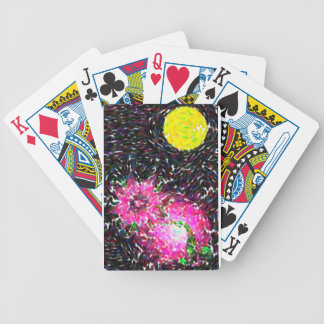 Baralhos De Pôquer o contemporâneo abstrato não colore nenhum 17