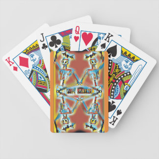 Baralhos De Pôquer O Dia das Bruxas feliz desossa bastões da American