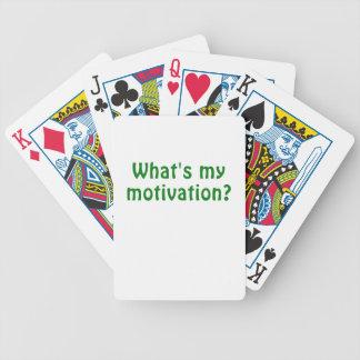 Baralhos De Pôquer O que é minha motivação