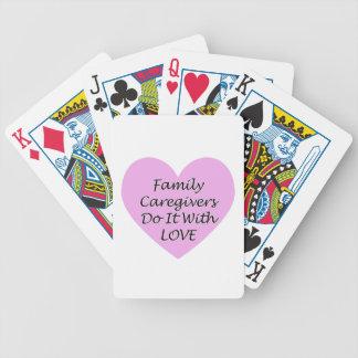 Baralhos De Pôquer Os cuidadors de família fazem-no com amor