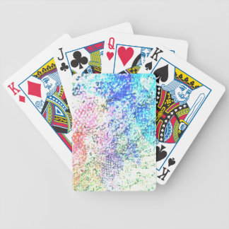 Baralhos De Pôquer Para o amor da cor - Pastel do caleidoscópio