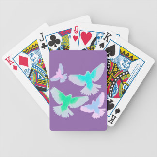 Baralhos De Pôquer Pássaros Pastel