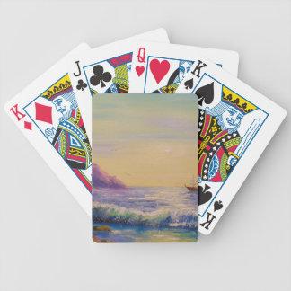 Baralhos De Pôquer Pelo mar