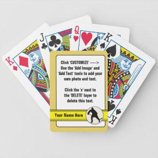 Baralhos De Pôquer Plataforma de cartão customizável do cromo de