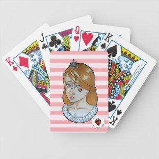 Baralhos De Pôquer Princesa dos áss - cartões de jogo da bicicleta