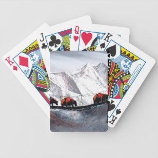 Baralhos De Pôquer Rebanho de iaques Himalaya da montanha