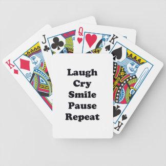 Baralhos De Pôquer Repetição do riso