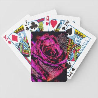 Baralhos De Pôquer Rosa do rosa por Camilo K