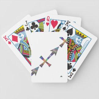 Baralhos De Pôquer Sagitário do holograma