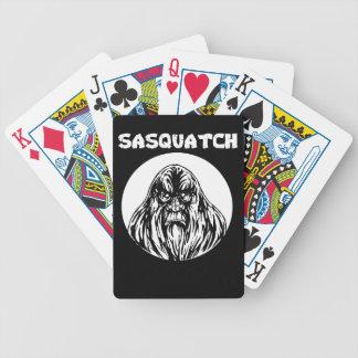 Baralhos De Pôquer Sasquatch