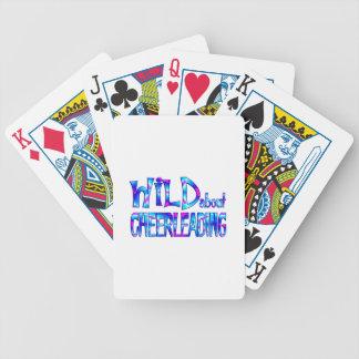 Baralhos De Pôquer Selvagem sobre Cheerleading