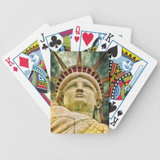 Baralhos De Pôquer Senhora Liberdade, estátua da liberdade