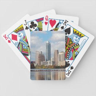 Baralhos De Pôquer Skyline de Austin Texas