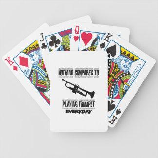 Baralhos De Pôquer Tendendo o design da trombeta