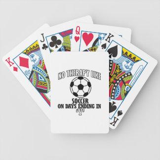 Baralhos De Pôquer Tendendo o design legal do futebol