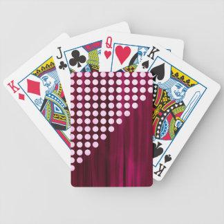 Baralhos De Pôquer Teste padrão de bolinhas de veludo