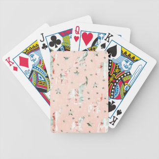 Baralhos De Pôquer Teste padrão de estrelas Pastel dos elefantes do