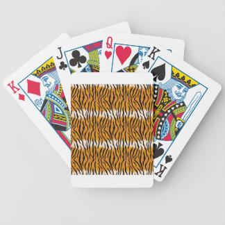 Baralhos De Pôquer Teste padrão do tigre