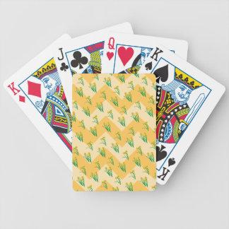 Baralhos De Pôquer Teste padrão dos Daffodils