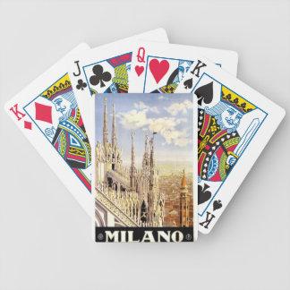 Baralhos De Pôquer Viagem de Palermo do vintage
