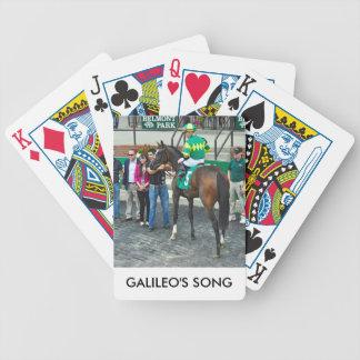 Baralhos Para Poker A canção de Galileo