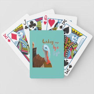 Baralhos Para Poker Acção de graças Sassy