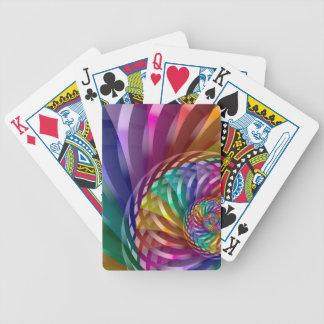 Baralhos Para Poker Arco-íris metálico