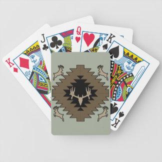 Baralhos Para Poker Arte indiana americana dos cervos do fanfarrão