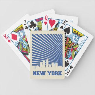 Baralhos Para Poker Azul da Nova Iorque