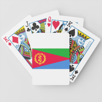 Baralhos Para Poker Baixo custo! Bandeira de Eritrea