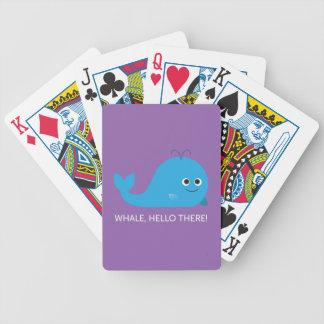 Baralhos Para Poker Baleia, olá! lá!