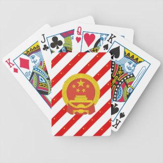 Baralhos Para Poker Bandeira chinesa das listras