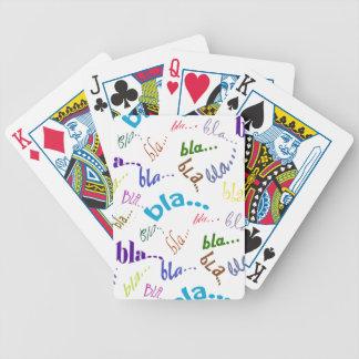 Baralhos Para Poker Bla, bla, bla…