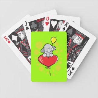 Baralhos Para Poker Cartões de jogo do póquer de Bicycle® com elefante