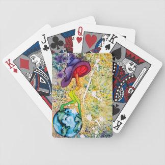 Baralhos Para Poker Cartões de jogo sozinhos do suporte