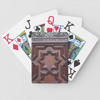 Baralhos Para Poker Casa espanhola da porta da igreja da entrada do
