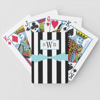 BARALHOS PARA POKER CHIQUE QUE JOGA O ARCO DE CARDS_BLACK/WHITE