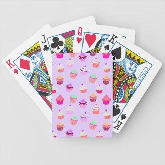 Baralhos Para Poker Confetes roxos do cupcake