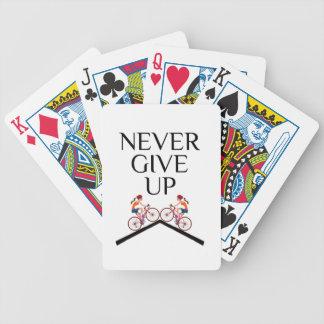 Baralhos Para Poker Dê nunca nunca mantêm-se acima ir