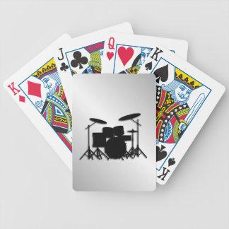 Baralhos Para Poker Design ajustado da música do cilindro
