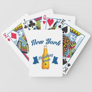 Baralhos Para Poker Equipe do bebendo de New York