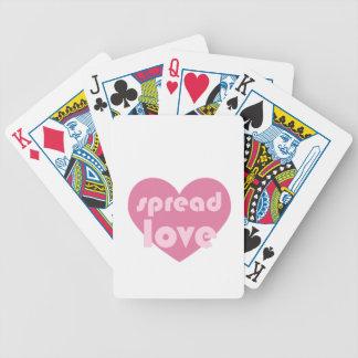 Baralhos Para Poker Espalhe o amor (geral)
