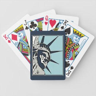 Baralhos Para Poker Estátua da liberdade