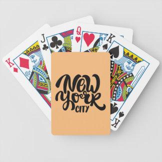 Baralhos Para Poker Estilo da Nova Iorque