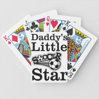 Baralhos Para Poker Estrela de futebol do pai pouca
