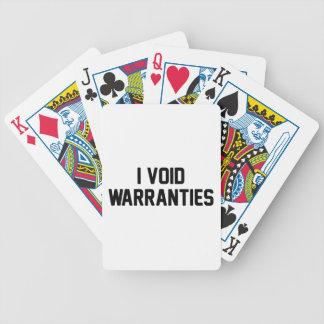 Baralhos Para Poker Eu anulo garantias