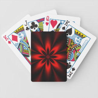 Baralhos Para Poker Explosão floral vermelha