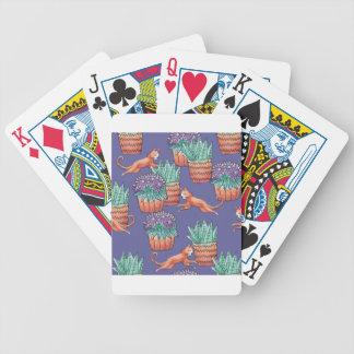 Baralhos Para Poker floral cats