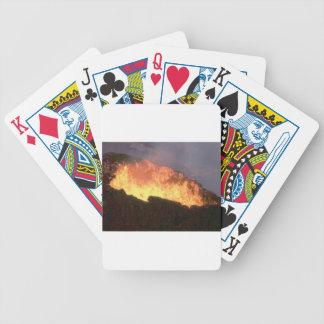 Baralhos Para Poker fulgor do fogo vulcânico