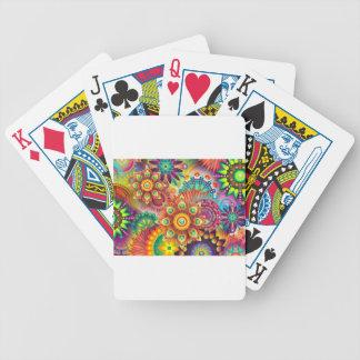 Baralhos Para Poker Fundo abstrato colorido novo